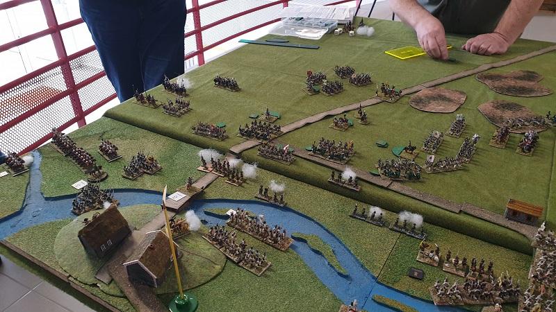 La bataille de Gorodeczna 1812. Austro saxons contre russes Bat710