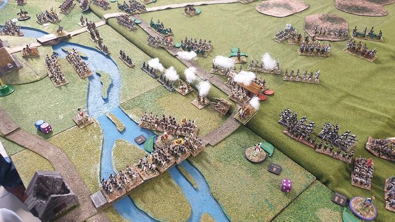 La bataille de Gorodeczna 1812. Austro saxons contre russes Bat910