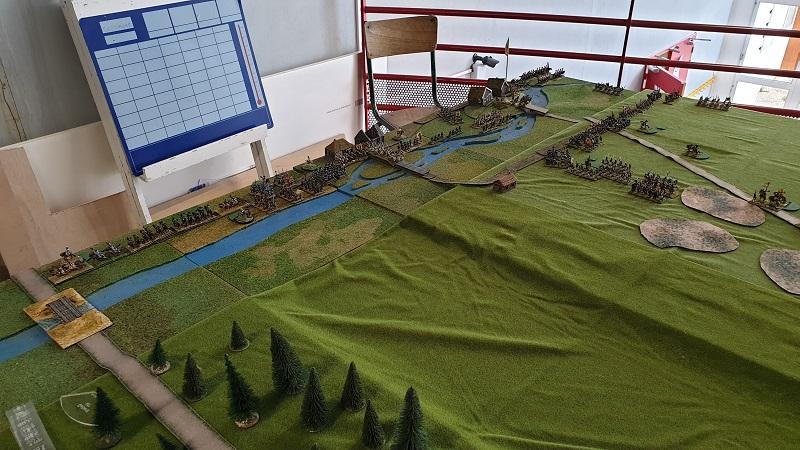 La bataille de Gorodeczna 1812. Austro saxons contre russes Dep_au10
