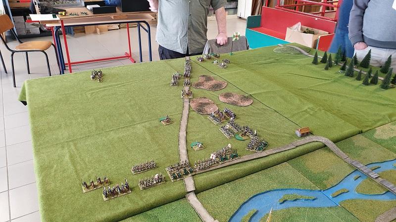 La bataille de Gorodeczna 1812. Austro saxons contre russes Dep_ru10