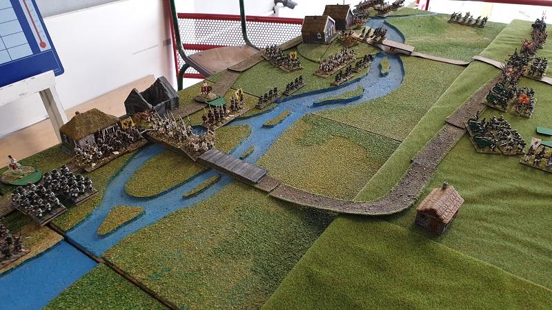 La bataille de Gorodeczna 1812. Austro saxons contre russes Mouv110