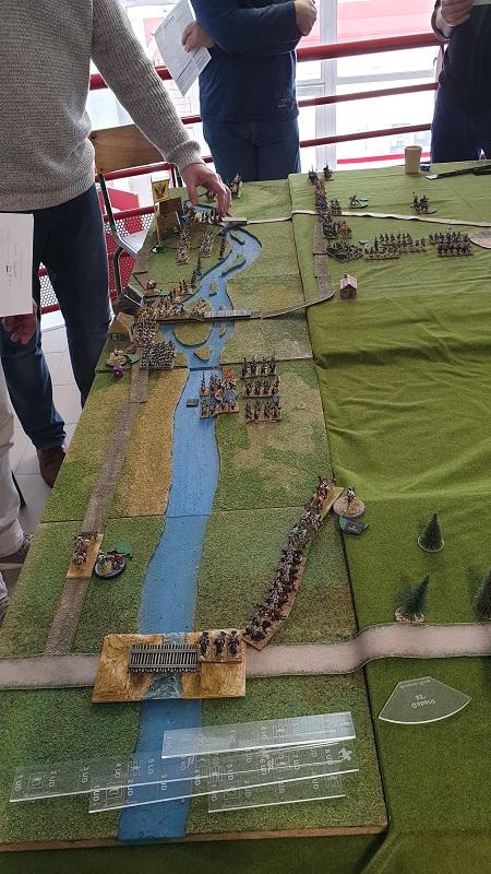 La bataille de Gorodeczna 1812. Austro saxons contre russes Mouv210