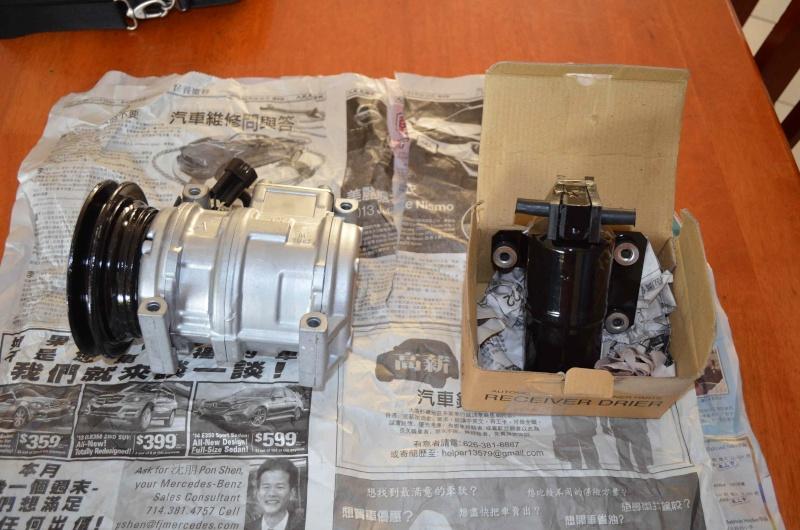 Remplacement compresseur de climatisation Compre12