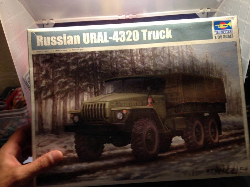 URAL 4320 1/35 TRUMPETER  up le 14/ 09 Img_4117