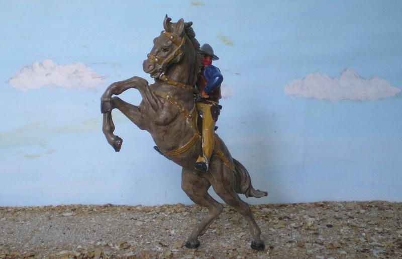 Bemalungen, Umbauten, Modellierungen - neue Cowboys für meine Dioramen - Seite 3 Elasto19