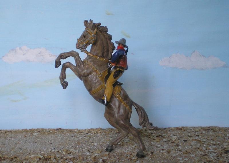 Bemalungen, Umbauten, Modellierungen - neue Cowboys für meine Dioramen - Seite 3 Elasto21