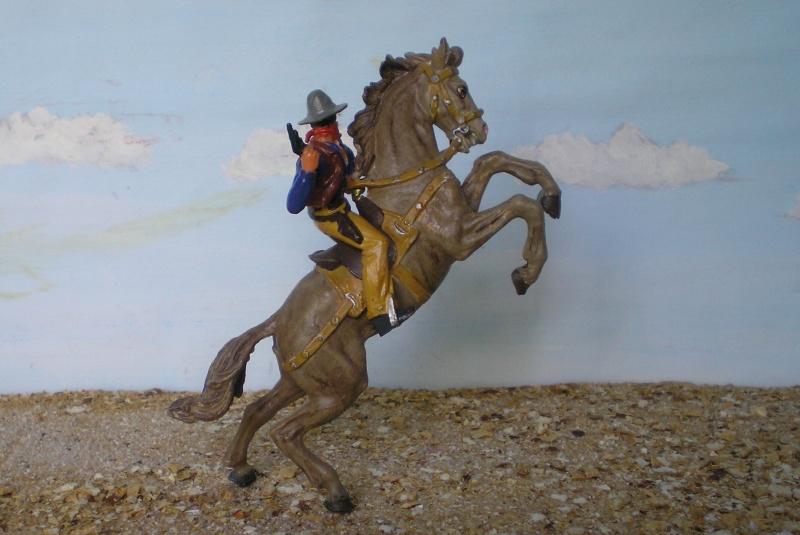 Bemalungen, Umbauten, Modellierungen - neue Cowboys für meine Dioramen - Seite 3 Elasto24