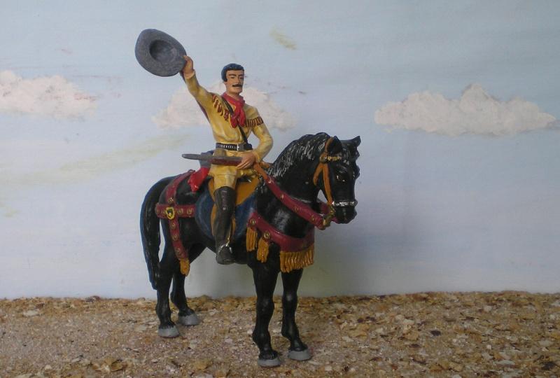 Bemalungen, Umbauten, Modellierungen - neue Cowboys für meine Dioramen - Seite 3 Elasto28