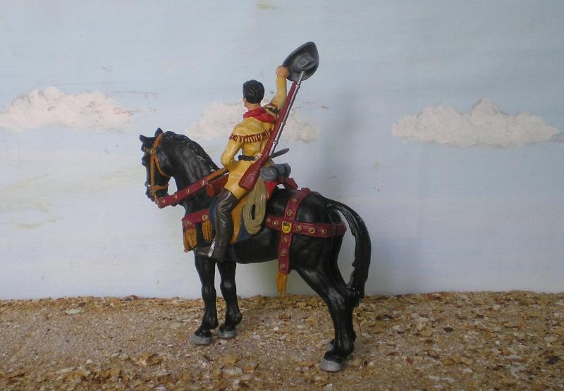 Bemalungen, Umbauten, Modellierungen - neue Cowboys für meine Dioramen - Seite 3 Elasto29