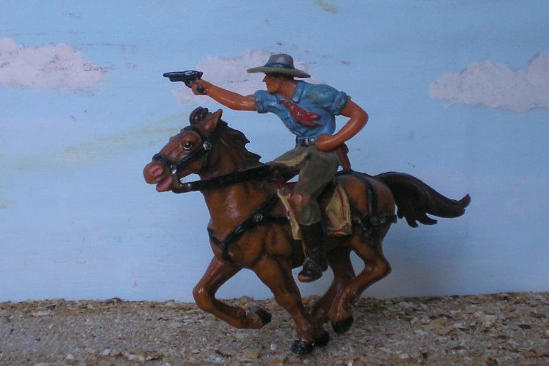 Bemalungen, Umbauten, Modellierungen - neue Cowboys für meine Dioramen - Seite 3 Elasto34