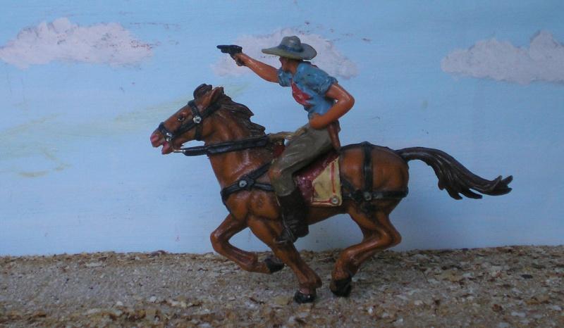 Bemalungen, Umbauten, Modellierungen - neue Cowboys für meine Dioramen - Seite 3 Elasto35