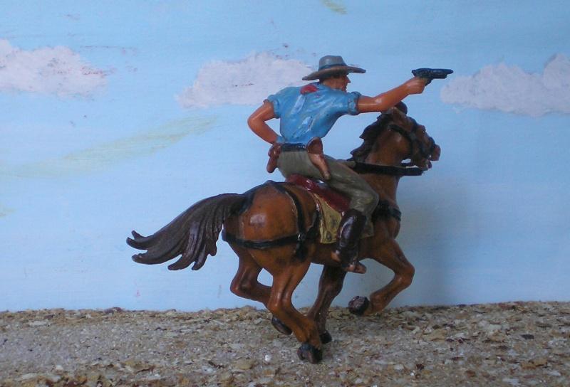 Bemalungen, Umbauten, Modellierungen - neue Cowboys für meine Dioramen - Seite 3 Elasto36