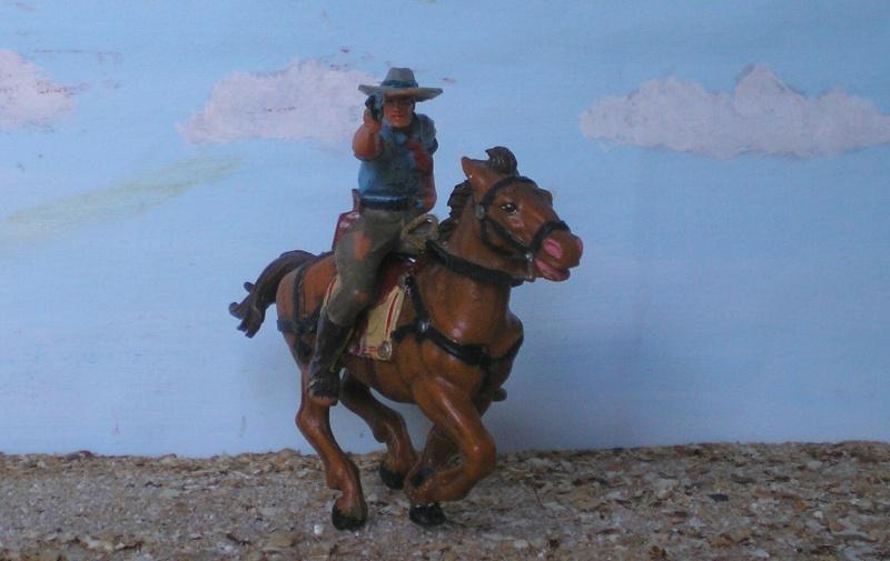 Bemalungen, Umbauten, Modellierungen - neue Cowboys für meine Dioramen - Seite 3 Elasto37