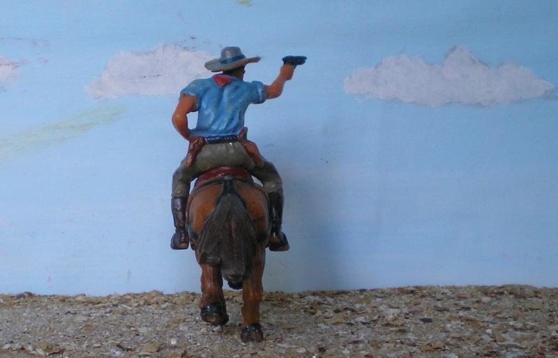 Bemalungen, Umbauten, Modellierungen - neue Cowboys für meine Dioramen - Seite 3 Elasto38