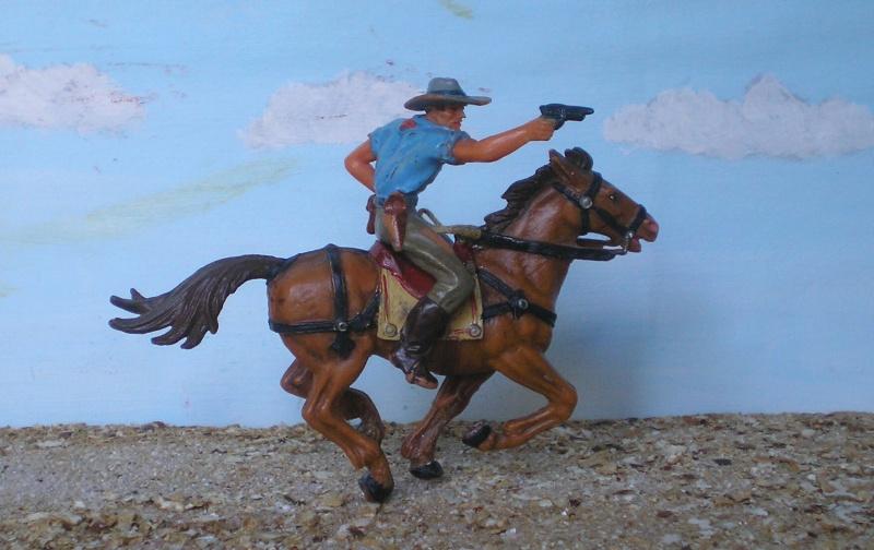 Bemalungen, Umbauten, Modellierungen - neue Cowboys für meine Dioramen - Seite 3 Elasto39