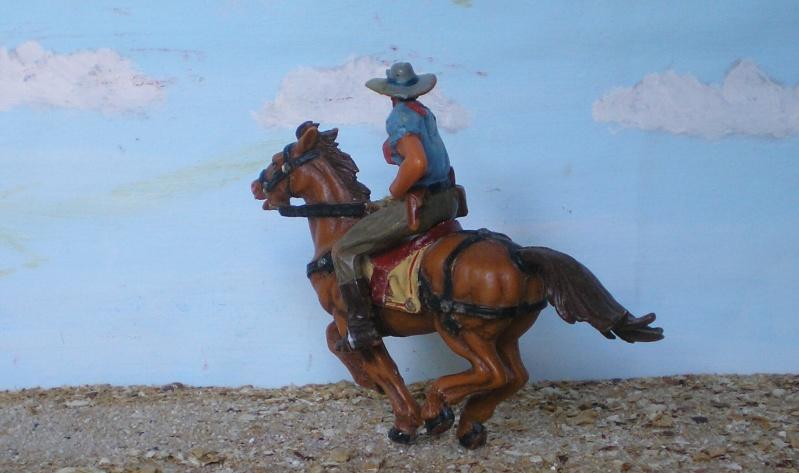 Bemalungen, Umbauten, Modellierungen - neue Cowboys für meine Dioramen - Seite 3 Elasto40