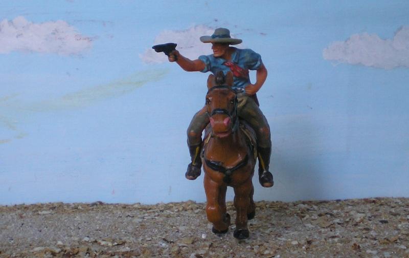 Bemalungen, Umbauten, Modellierungen - neue Cowboys für meine Dioramen - Seite 3 Elasto41