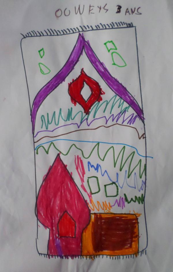 """Concours """"tapis de prière"""": Réalisations des 3/5 ans Dessin11"""