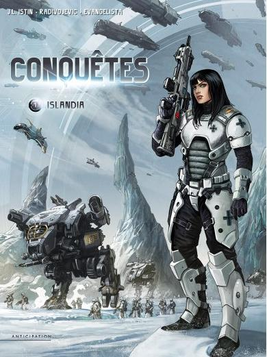 [BD] 3 BD de science-fiction Conque10