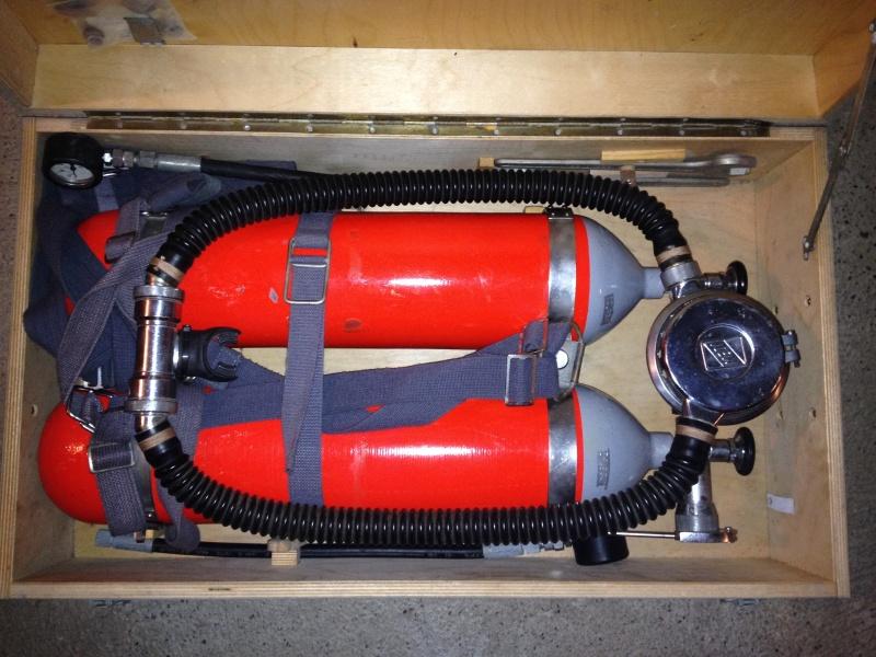 """Druckluft-Tauchergerät """"Hydromat - 62025"""", zwei 7-l-Druckluftflaschen Img_2710"""