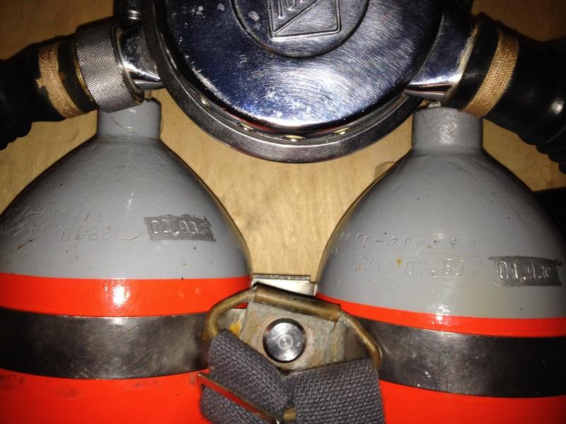 """Druckluft-Tauchergerät """"Hydromat - 62025"""", zwei 7-l-Druckluftflaschen Img_2714"""
