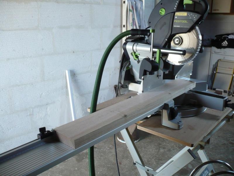 réalisation d'un meuble support pour scie à onglet P1030911