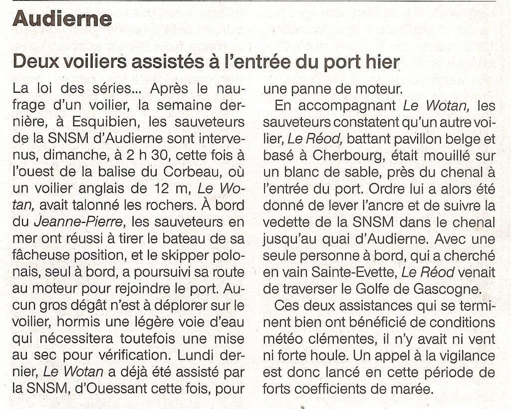 [Vie  des ports] LE PORT D'AUDIERNE - Page 9 Numari18