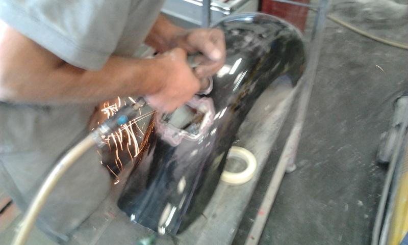 changement de feu arrière, un petit peu de carrosserie Garde710