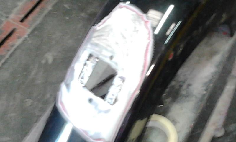 changement de feu arrière, un petit peu de carrosserie Garde910