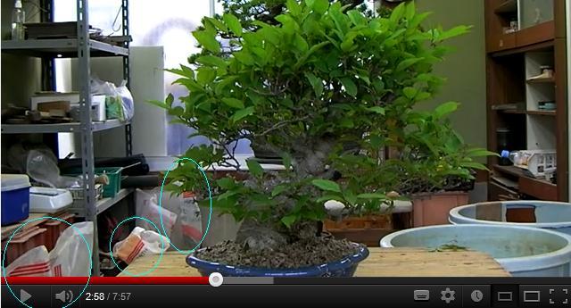 Qualità dell'akadama da un video su internet Aka3ba10