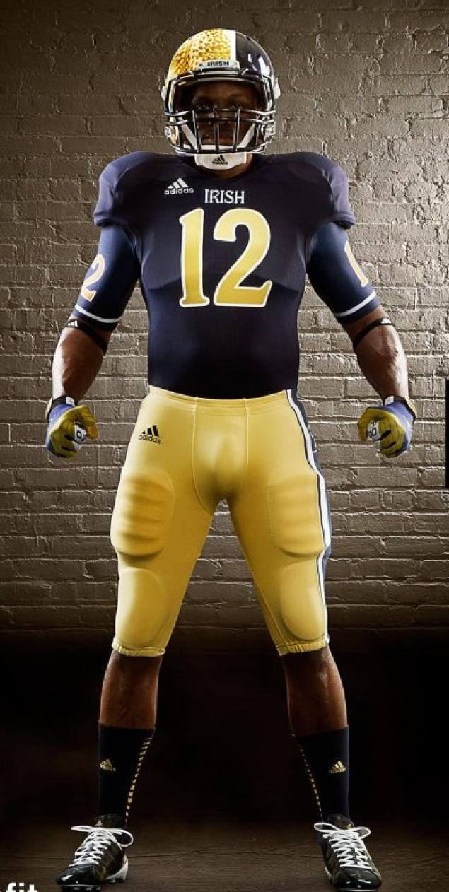 Notre Dame Uniform/Helmet Notre-10