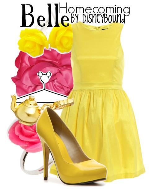 Disney Bound  Belle_10