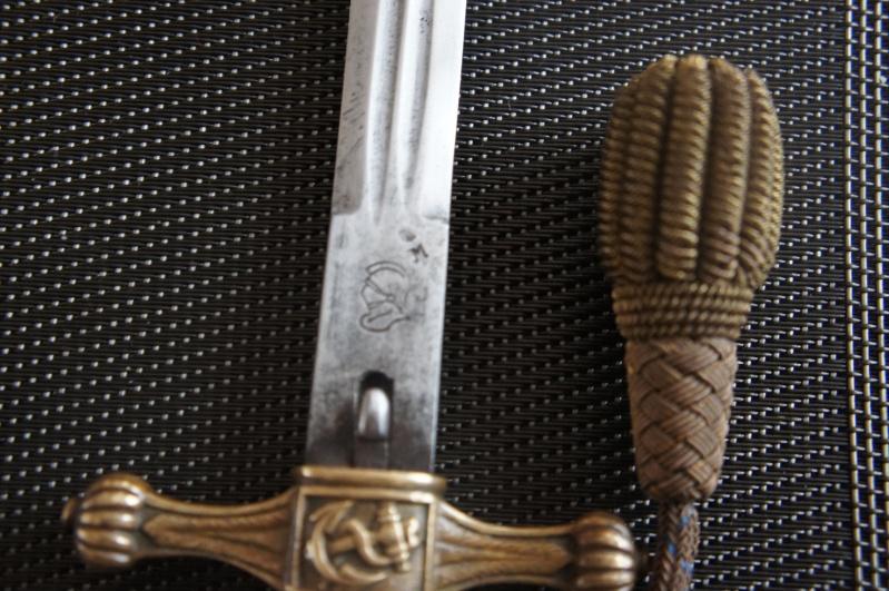 Marquage inconnu sur une dague Kriegsmarine. Dsc03610