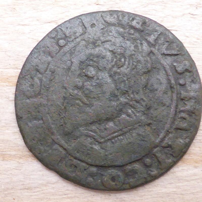 Liard pour Juste-Maximilien de Bronckhorst (1617-1662) P1010013
