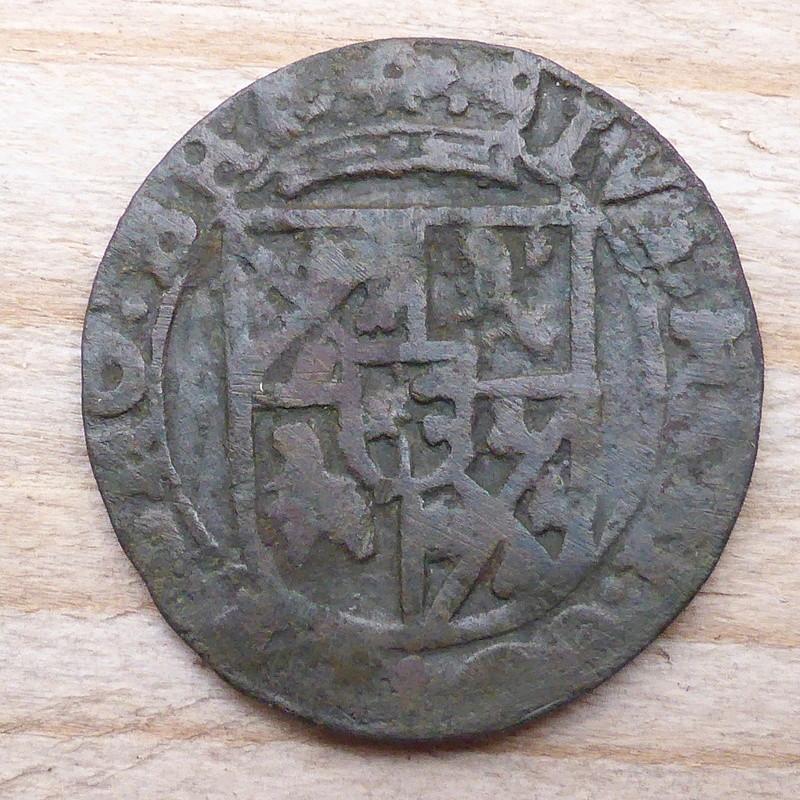 Liard pour Juste-Maximilien de Bronckhorst (1617-1662) P1010014