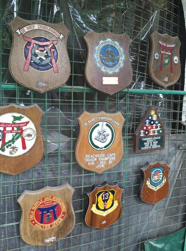 PH Souvenir US  militairy plaque Img_3813