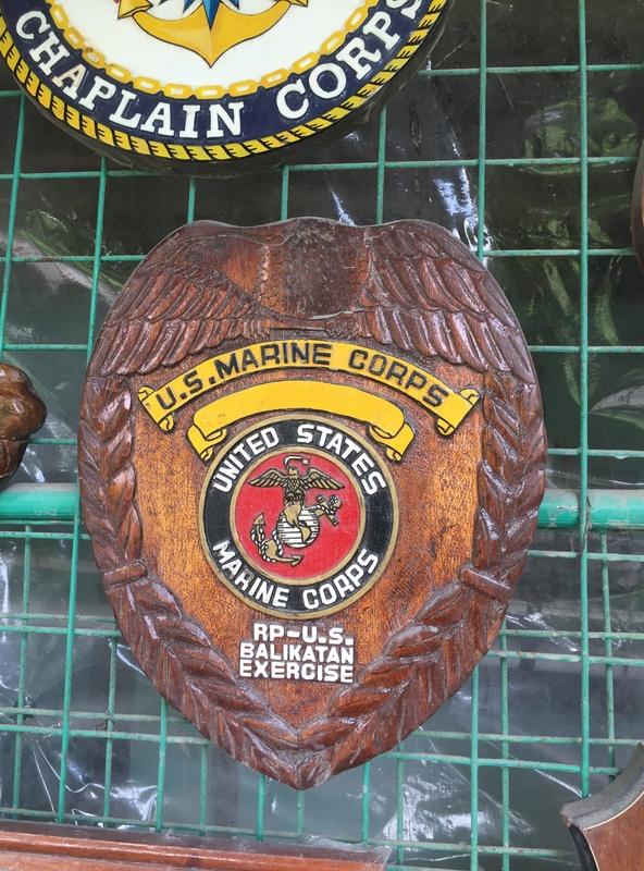 PH Souvenir US  militairy plaque Img_3816