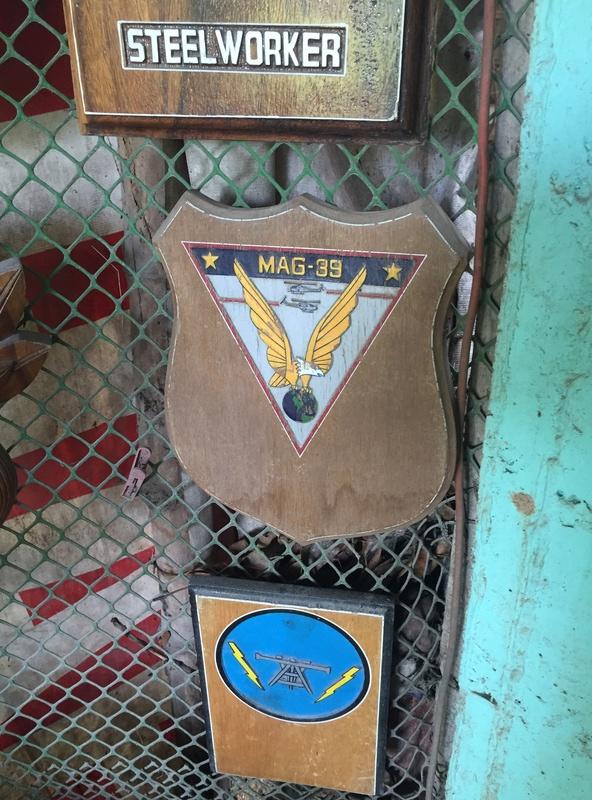 PH Souvenir US  militairy plaque Img_3819