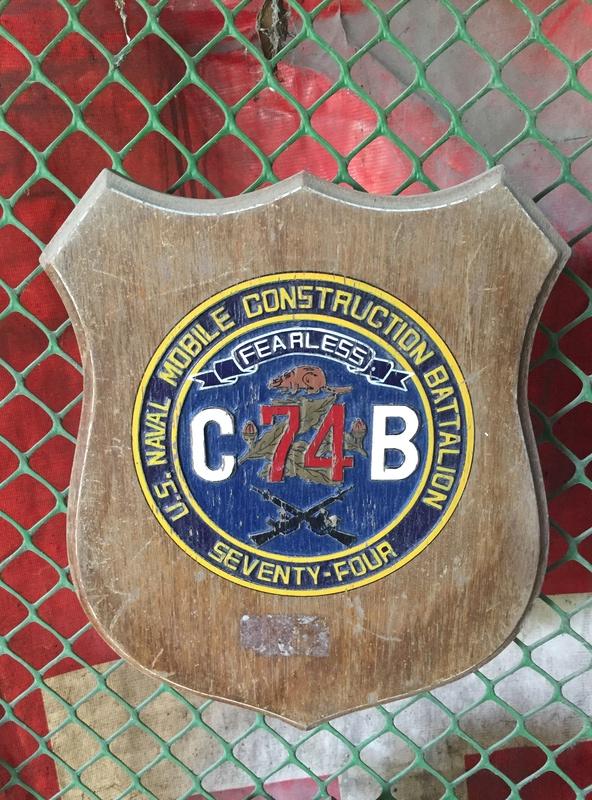 PH Souvenir US  militairy plaque Img_3821