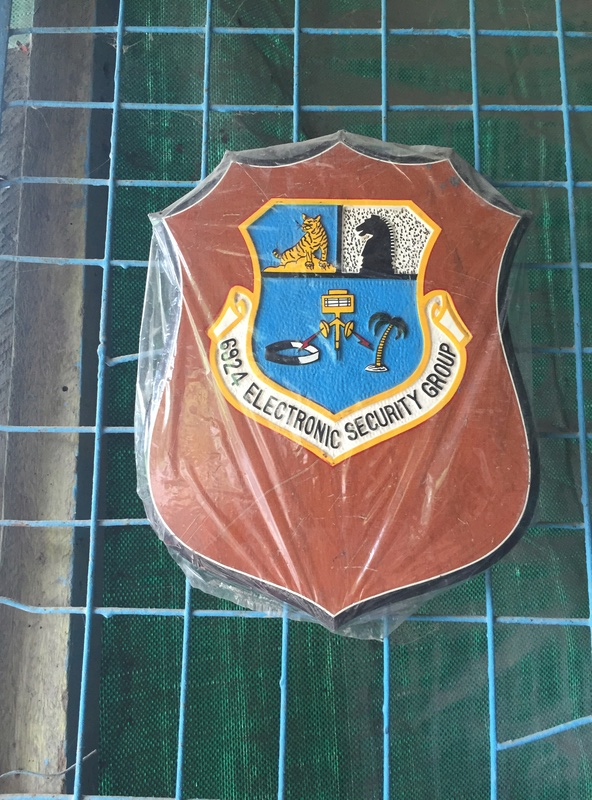 PH Souvenir US  militairy plaque Img_3823