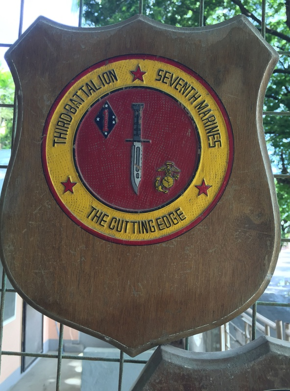 PH Souvenir US  militairy plaque Img_3824