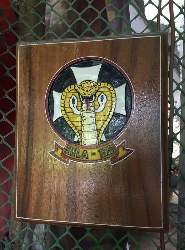 PH Souvenir US  militairy plaque Img_3825
