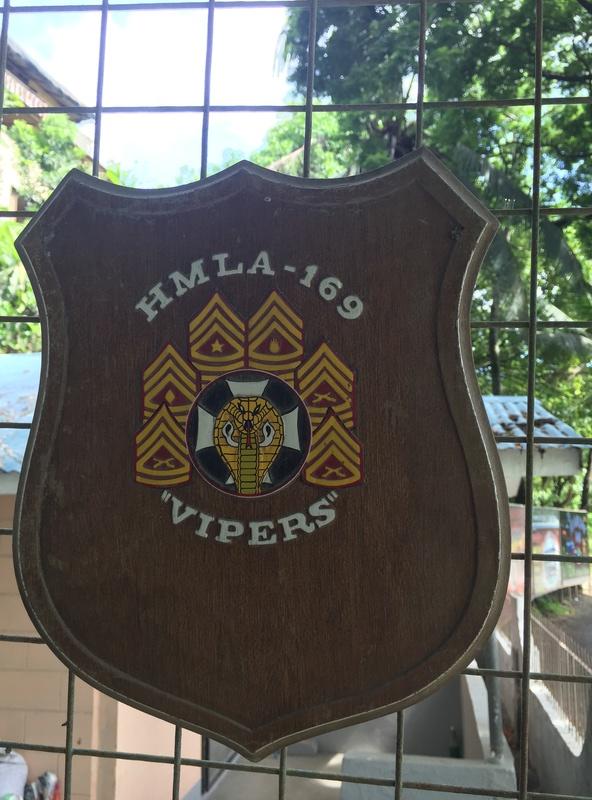 PH Souvenir US  militairy plaque Img_3827