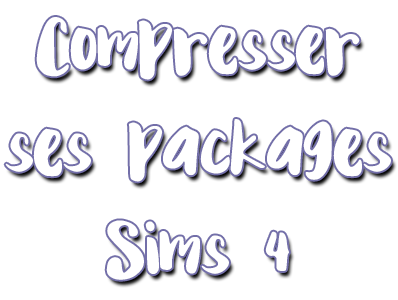 Compresser ses fichiers Package Tutopa10
