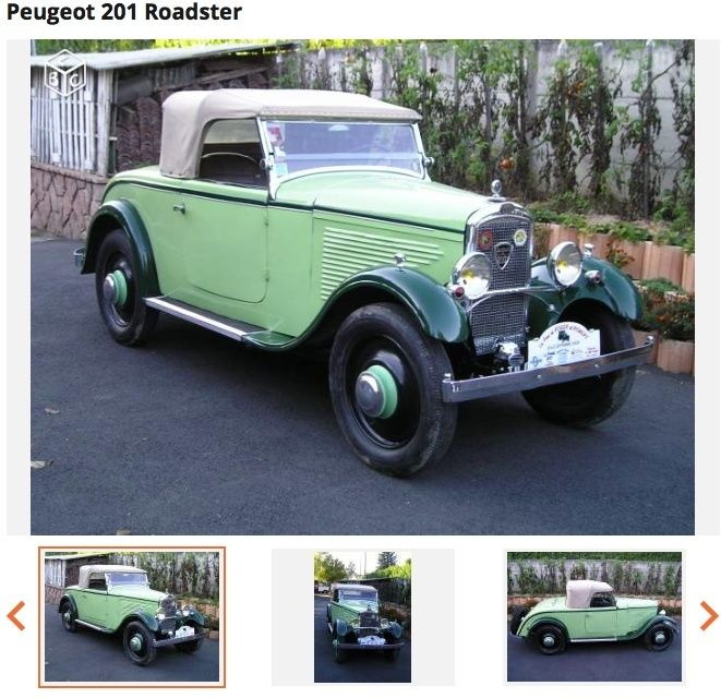 201 C  1931  cabriolet roadster  ? - Page 2 Roadst10