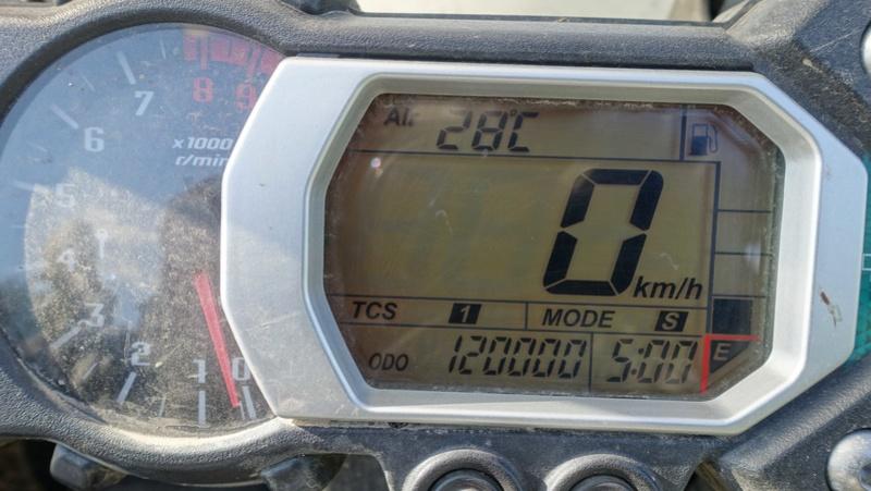 """Quel kilométrage a votre 1200XTZ modèle 2010 ? (Lire """"moins de"""") - Page 3 Dsc06110"""