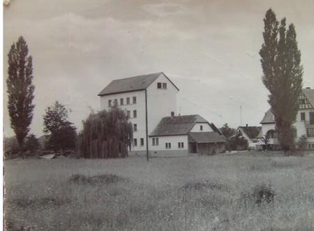 """Bas Rhin - Plomb de scelle """"B. Ostwald – Moulin de Rossfed"""". Moulin10"""