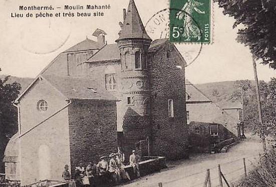 "Ardennes - Plomb de scelle  ""HARDY-LEBEGUE FILS MARANTES"". Moulin11"