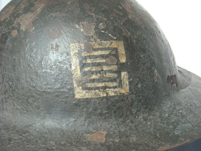 5th Div Officers Brodie Helmet 5thdiv10