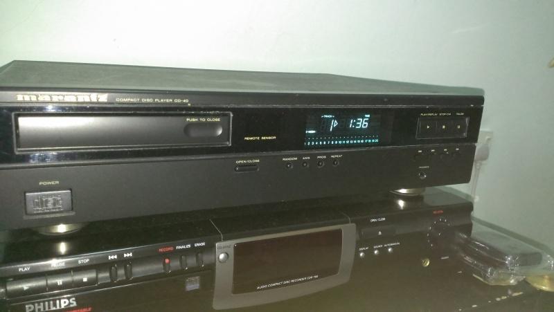 Marantz CD40 (USED) cd player Imag0011